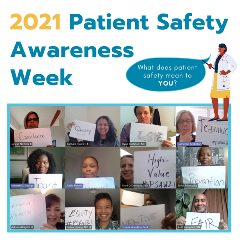 2021 Patient Safety Week Awareness 3-18-21