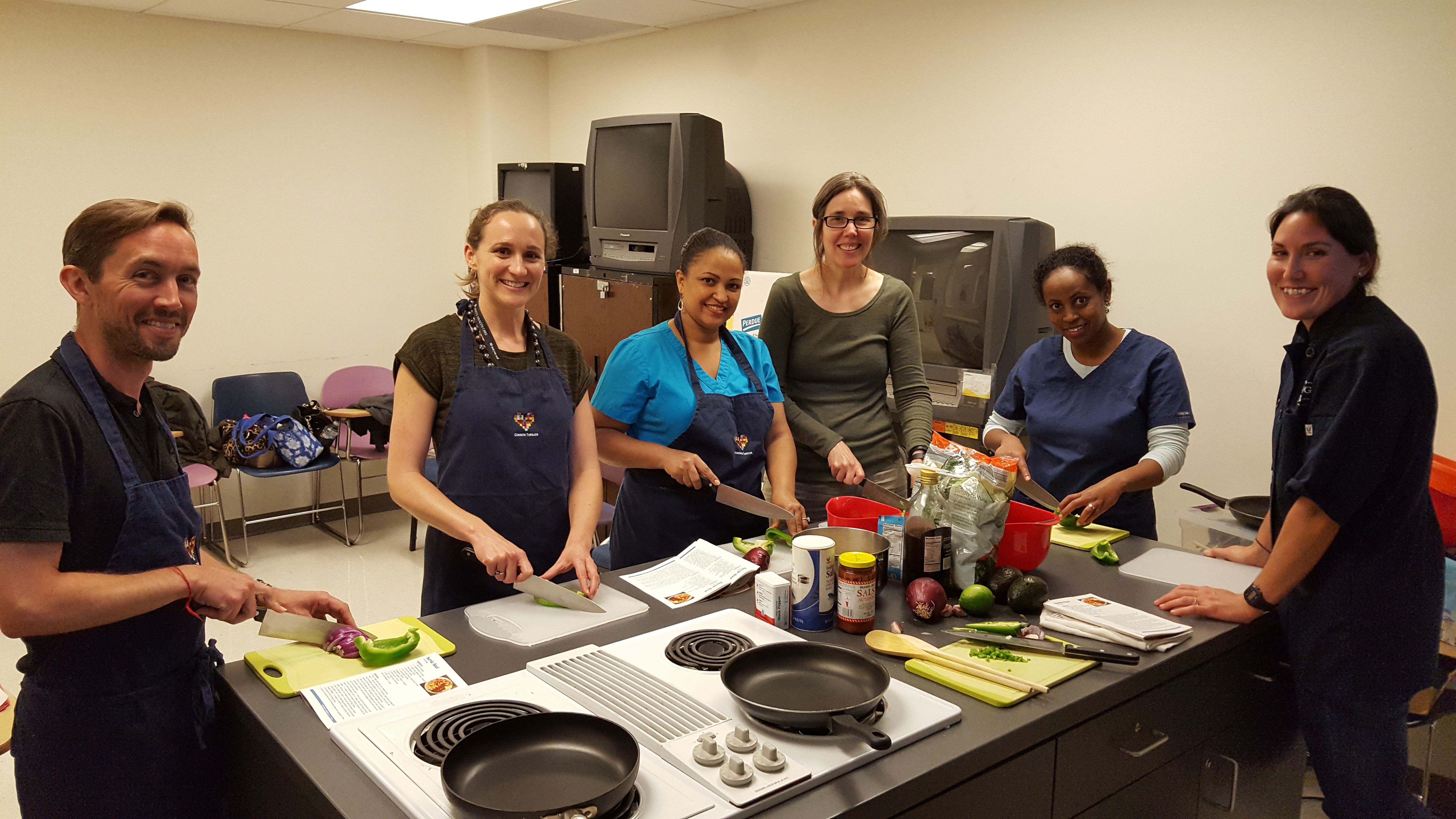 Common Threads Cooking Class Photo