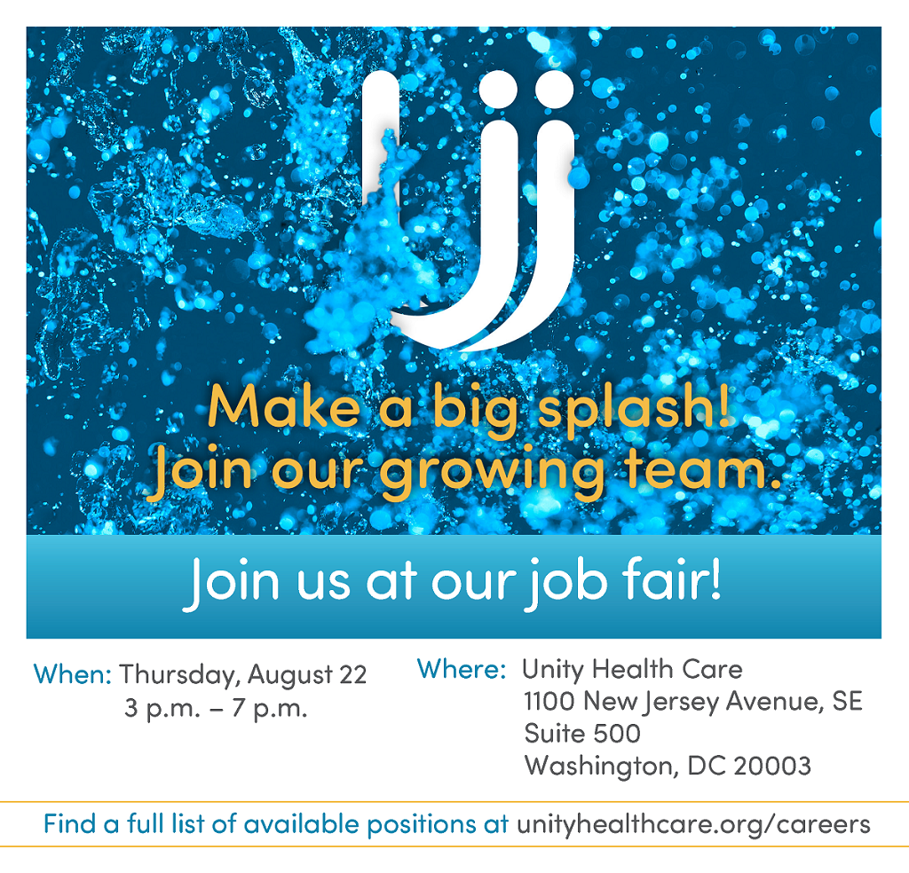 Careers   Unity Health Care