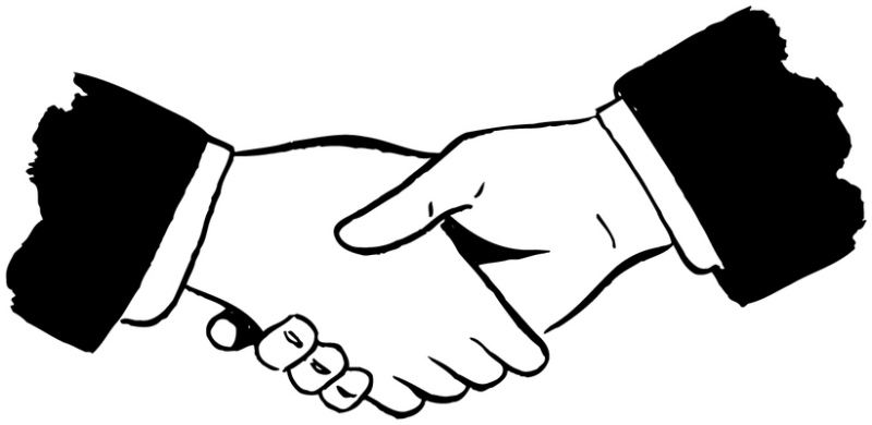 Shaking Hands Clipart